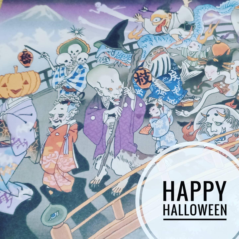 【ハッピーハロウィン】日本風にすると、ゲゲゲの鬼太郎?肝だめしでしょうか。素敵な日曜日を!